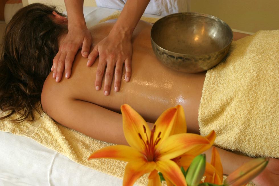 Berührung Massage